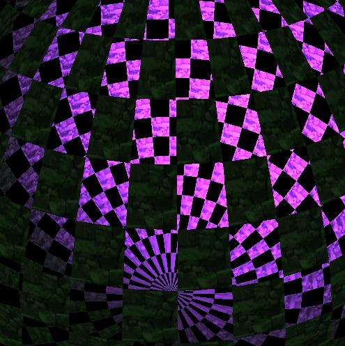 almost) murphy de - A Chessboard Sphere with WebGL